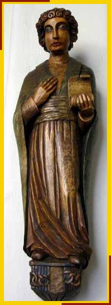 Statue of St Silas