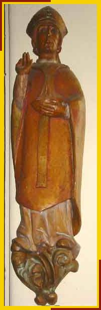 Statue of St Anselm