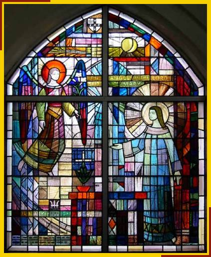 Annunciation window