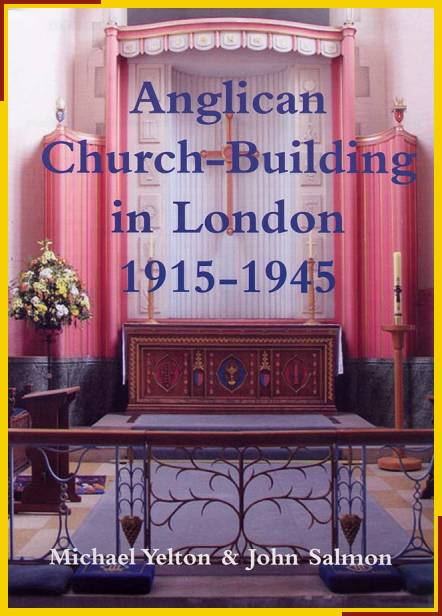 Anglican Church Building in London 1915 - 1945 