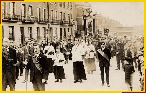 Corpus Christi Procession in Prince of Wales Road
