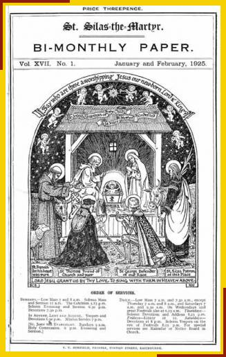 Drawing by Benjamin Boulter of the Nativity. This drawing has been used as a Christmas Card.