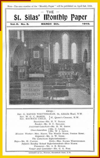 St. Silas Mission Church, Shipton Place, Malden Road. Interior looking towards the High Altar.
