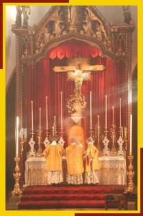 Censing the High Altar