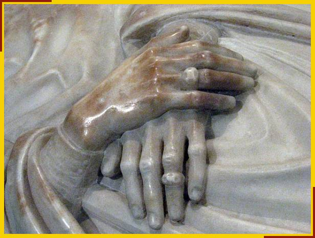 Hands of the monument