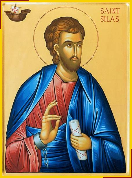 Icon of Saint Silas at St Paul's Church, Brighton