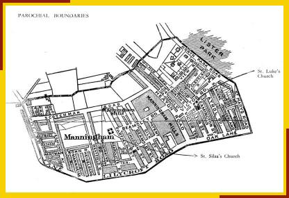Map of Manningham