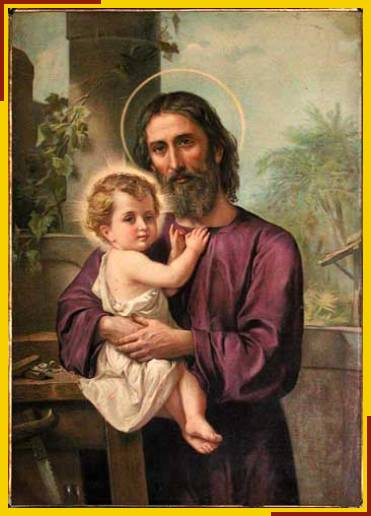 Joseph with Child Jesus