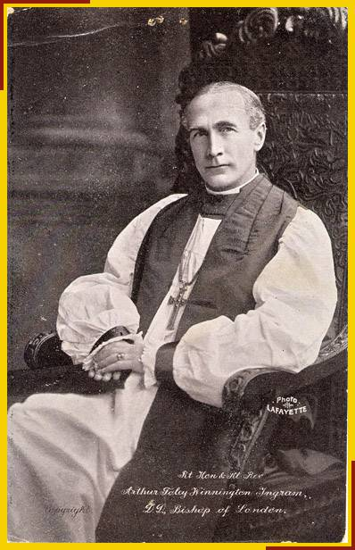 The Right Revd Arthur Foley Winnington-Ingram