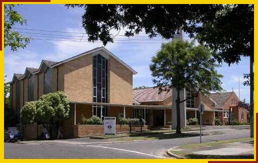 St Silas, Balwyn North, Melbourne. Photograph by kind permission of Keith Head.