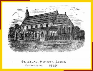 Artists impression of S Silas, Hunslet