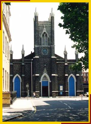 S. Mary the Virgin, Eversholt Street, London NW1