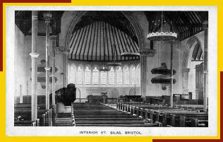 Postcard of interior of unknown origin.