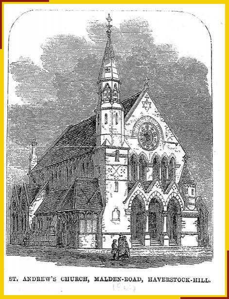 St Andrew, Malden Road, Kentish Town - 1867